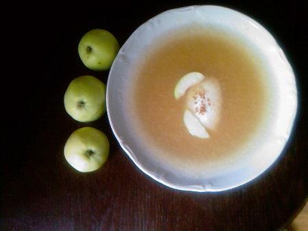 zupa jabłkowa zimna