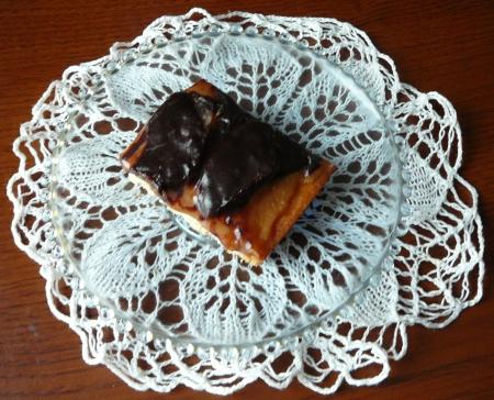 gruszkowy z czekoladą