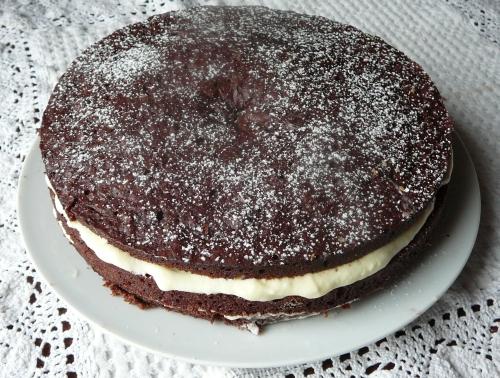 tort z masą szfaranową
