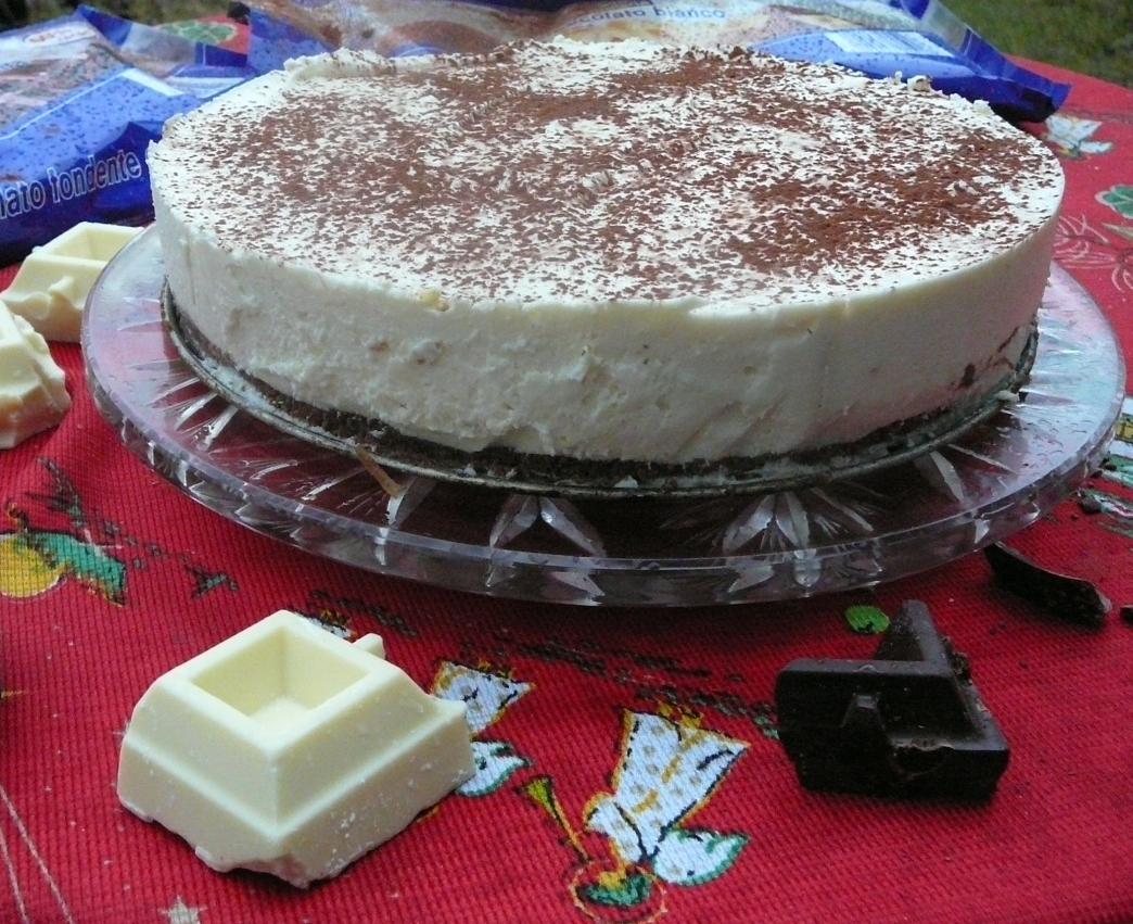 sernik z białą czekoladą 3