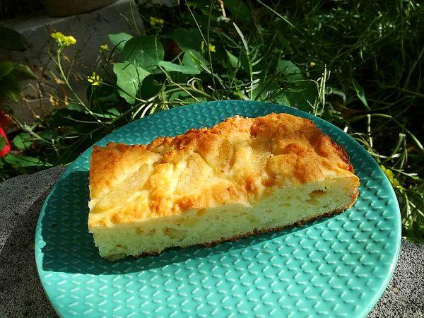 ciasto z gruszkami i serem